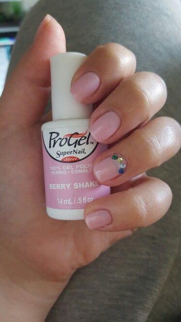 Supernail Progel Smalto Semipermanente Cherry Bloom By: ProGel- Berry Shake
