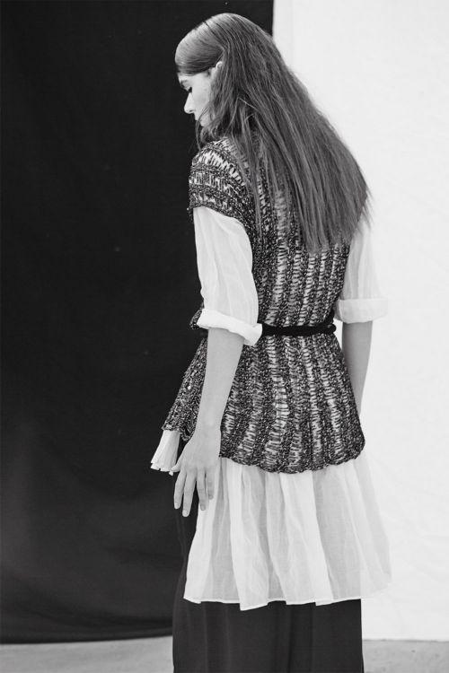 Купить РУБАШКА СО СБОРКОЙ из коллекции «Resort 2016» от Lesel (Лесель) российский дизайнер одежды