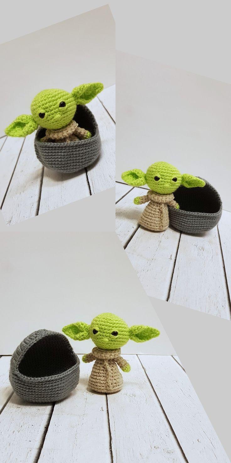 Baby yoda toys handmade gifts for her etsy handmade baby