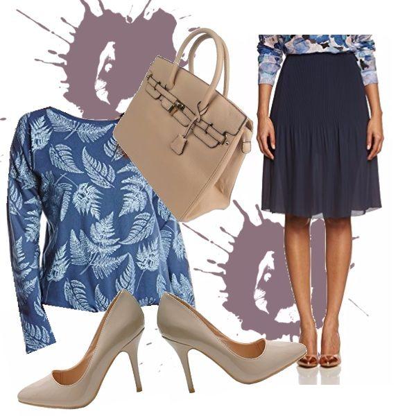 La gonna in voile è un must della stagione e non necessariamente va indossata la sera... con una felpa che la ravviv e gli accessori giusti ecco un outfit perfetto !!!!