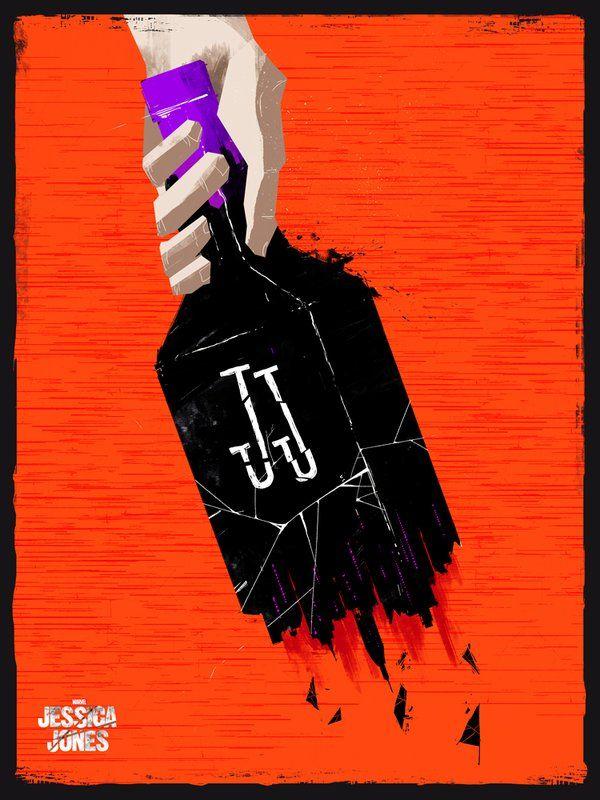 Marvel's Jessica Jones (Netflix series) Poster