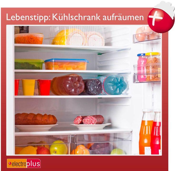 Unser Lebenstipp im Juli 2013: Kühlschrank aufräumen
