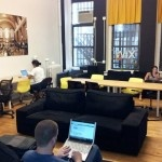 Wix Lounge // NYC   Is it Wix Lounge's free workspace? The endless free coffee and tea? The fast (and free) wi-fi? It's hard to decide which freebee makes Wix Lounge one of coolest and most cost effective places to work.