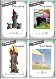 Tarot des contes Ateliers langage et production écrit
