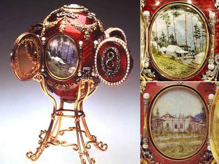 The online community for antiques, vintage & art object enthusiasts +Free Online appraisals :: Article :: The Fabergé Czar Imperial Easter Eggs - part 1a