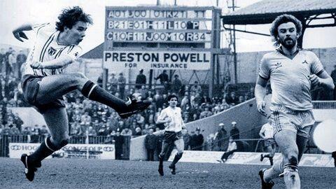 Ally McCoist in action for Sunderland. (1982)