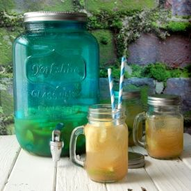 Tropical Fruit Sangria.  A sure way to feel on an exotic vacation even if at home!