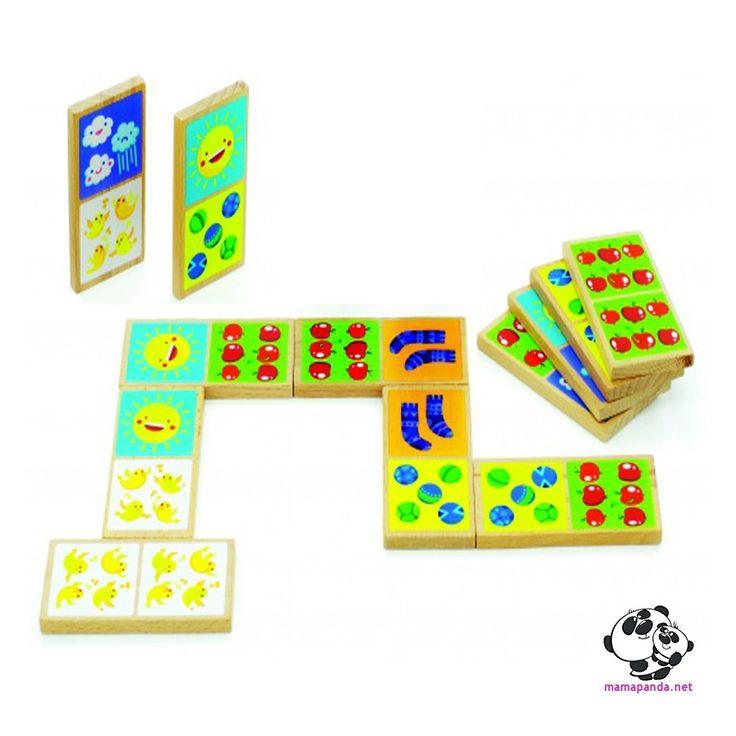 Домино Счет, Мир деревянных игрушек. Цена на Игры на внимание и память
