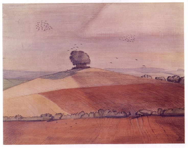 Wittenham Clumps - Paul Nash