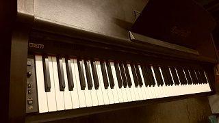 Pianoforte digitale GEM RP70C tasti pesati