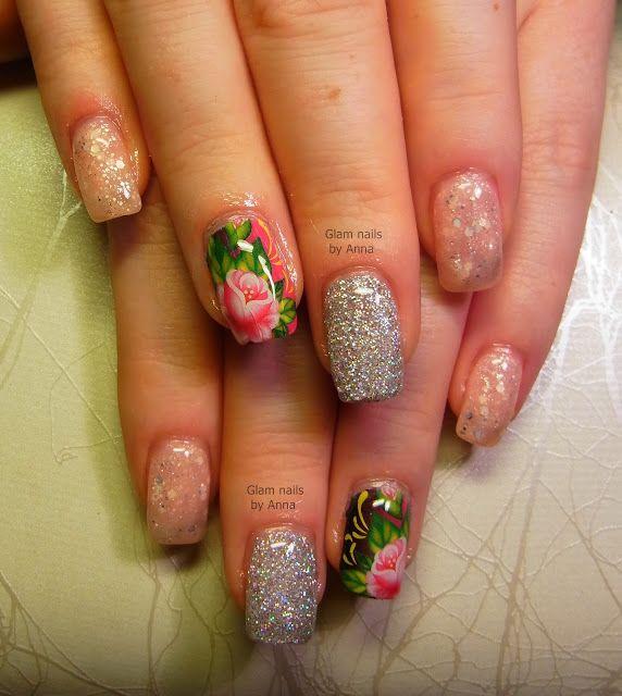 Lory's Blog: Manichiura cu gel realizata de Glam Nails by Anna