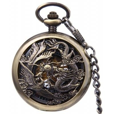 Just US$27.39 + free shipping, buy Antique Mechanical Hand Wind Fob Watch online shopping at GearBest.com.