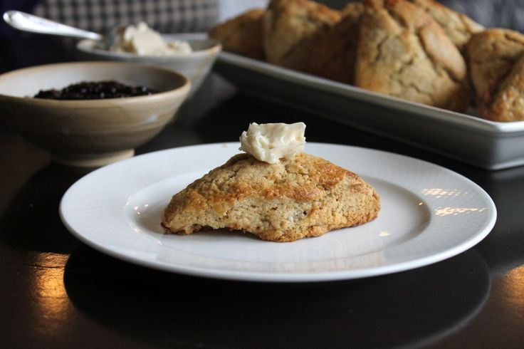 Chai Spiced Scones with Cinnamon Honey Butter