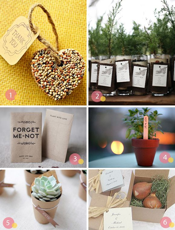 Garden Themed Wedding Favors This Type Of Stuff Is What I Really Really  Like!