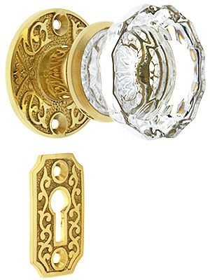 vintage style glass door knobs sliding hardware for cabinets lowes canada mortise lock