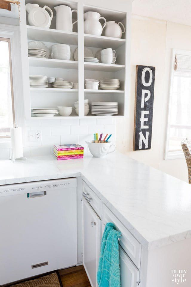 Easy Diy Kitchen Countertops Looking For Ideas To Redo Your Cheap Laminate Co Painting Kitchen Countertops Diy Kitchen Countertops Kitchen Remodel Countertops