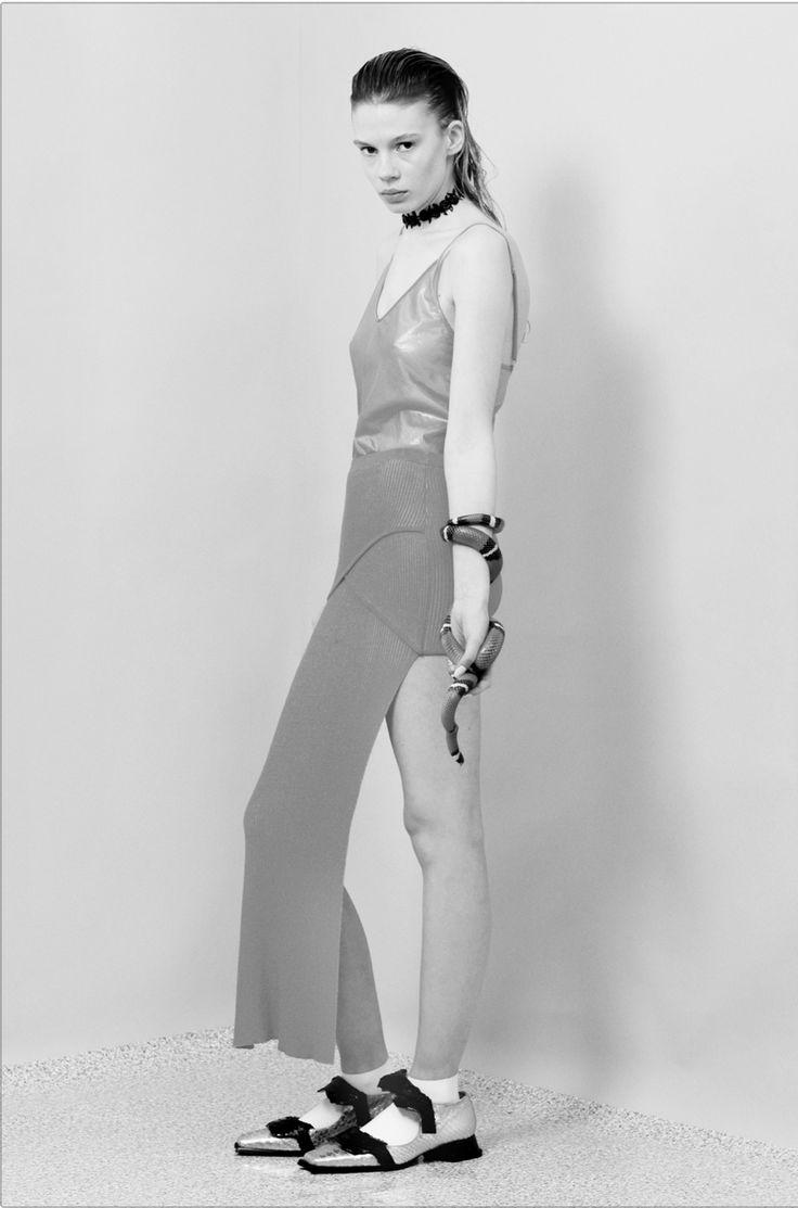 Julia Zimmer by Nicole Maria Winkler - photography , Georgia Pendlebury - fashion , Swann Amdéo - assistant - APRIL 2014