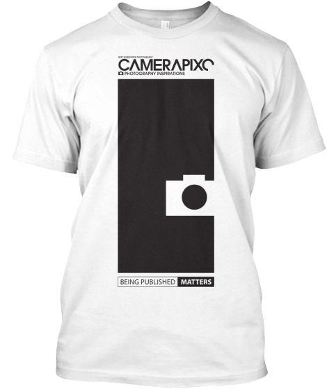 WHITE Camerapixo T-Shirt