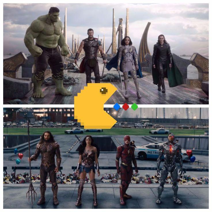 thor: ragnarok vs justice league 2017