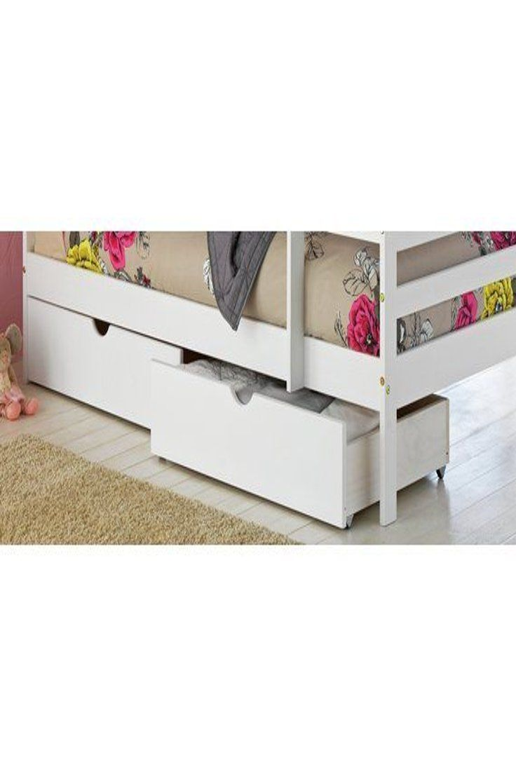 47 99 Gbp Josie Pair Of Single Drawers White Josie Pair Single Drawers White Weddingshoes Kittens White Kids Bed Bunk Beds With Drawers Kid Beds