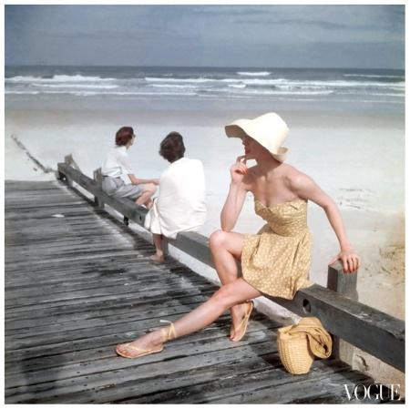 Photo Serge Balkin Beyond the sea Conde Nast Archive vogue 1949