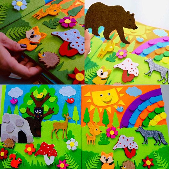 Childrens Quiet Book, Busy Book, Eco friendly, educational 10 or 12 pages. Children are constantly looking, listening, and touching things in their surroundings. They love colors, shapes, textures, and gadgets of all sorts and sizes. A quiet book contains all of these elements-and so