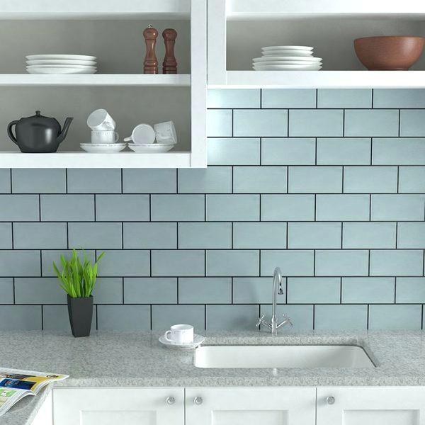 Light Blue Kitchen Tiles Light Blue Kitchen Wall Tiles For Subway Toward Faucet Also Wood Salt An Kitchen Wall Tiles Beautiful Kitchen Tiles Blue Kitchen Tiles