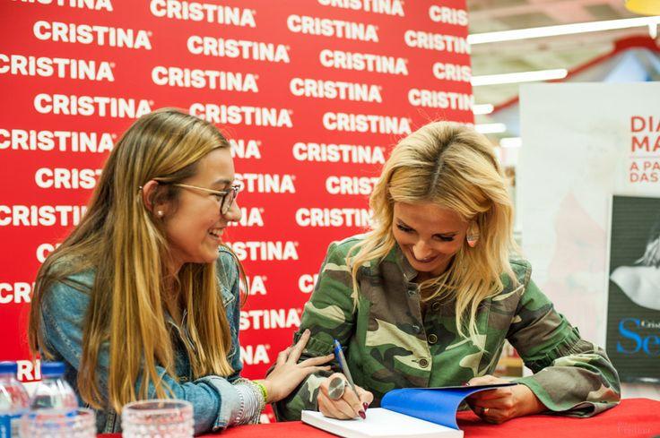 Sessão autógrafos | Cristina Ferreira | Livro Sentir | Revista CRISTINA