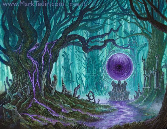 DARK HEART OF THE WOOD by Mark Tedin