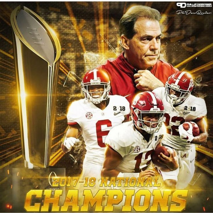 2018 College Football Playoff National Championship - The Alabama Crimson Tide collected their fifth national title in nine years after defeating the Georgia Bulldogs 26-23 in the College Football Playoff National Championship at Mercedes-Benz Stadium in Atlanta #Alabama #RollTide #Bama #BuiltByBama #RTR #CrimsonTide #RammerJammer #CFBPlayoff #NationalChampionship #CFBNationalChampionship2018