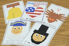 american symbols for kindergarten | Mrs. Ricca's Kindergarten: Presidents' Day Freebie!