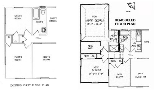house plans remodeled ranch - home design and style