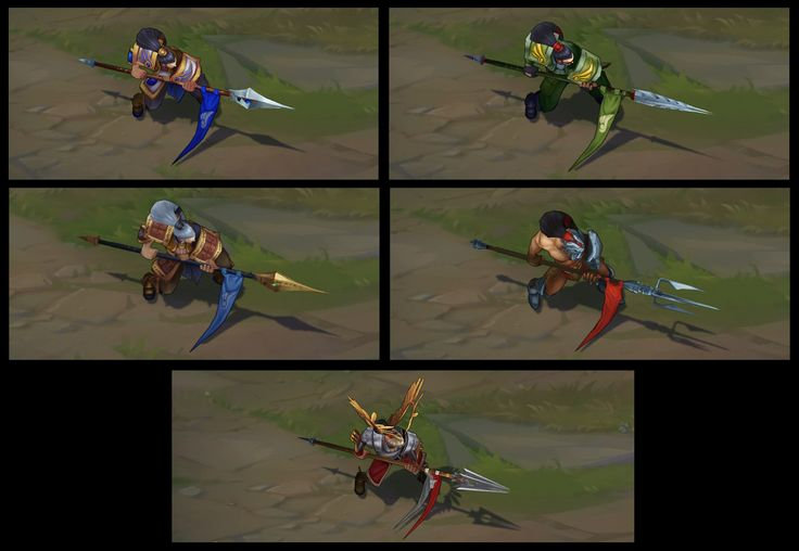 Xin Xhao Texture Update on classic and his skins #PBE #LeagueOfLegnds #LoLNews #LoL