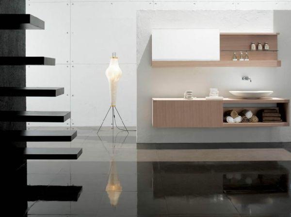 Beautiful Spiegelschrank mit Schiebet r Evtl aus Ikea Wandregal selbst anfertigen