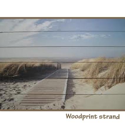 Woodprint strand