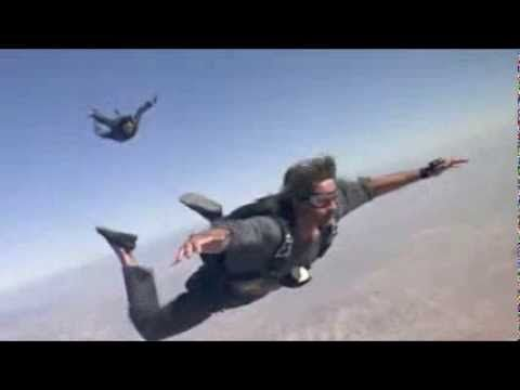 The movie Point Break and the Banzai Jump. http://banzaiskydiver.com/banzai-skydiving-videos/ #Movie #Banzai #Jump