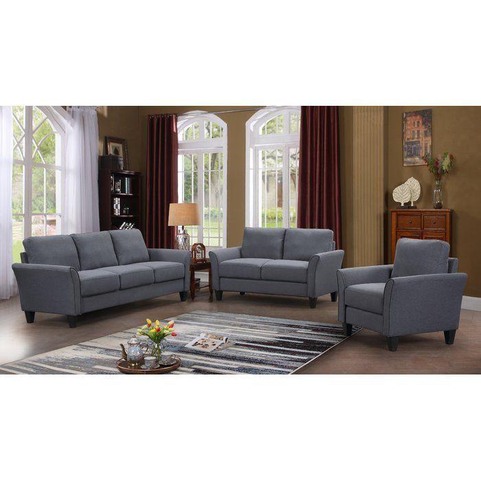 Galvez 3 Piece Living Room Set Galvez Living Piece Room Set Living Room Sets Living Room Furniture Sofas Living Room Sets Furniture