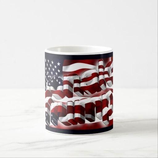 Donald Trump Flag Mug