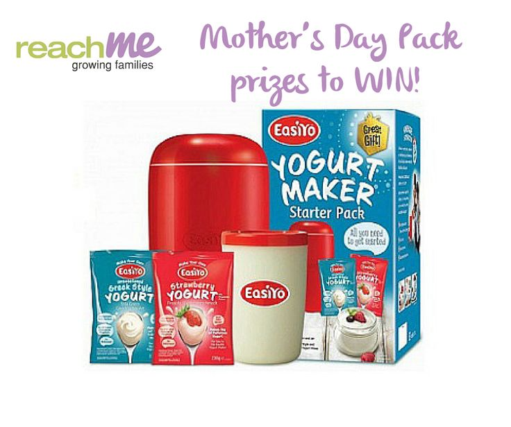 Mother's Day Pack Prizes to WIN! We will be picking up winners for Mother's Day pack contest very soon! Please like our Facebook page, post and share your favourite products in our pack and have a chance to win one of Easiyo Yogurt Makers and other awesome prizes! JOIN NOW! **Terms and conditions: Only one entry is allowed per user. Winners will be drawn online and will be notified by email. Competition open to New Zealand residents and for New Zealand delivery only.