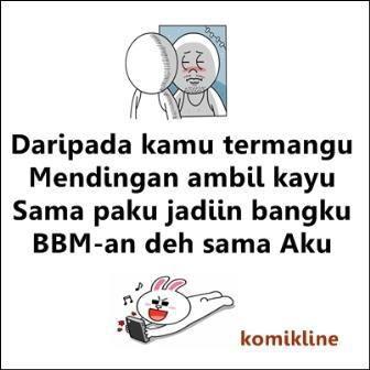bbm-an sama aku
