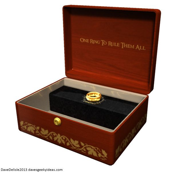 lord of the rings jewelry box get your on