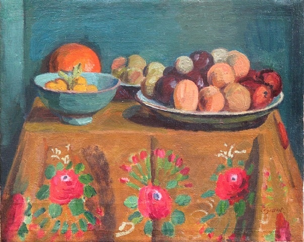 Duncan Grant Still Life with Fruit and Berries