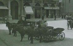 Piazza della Minerva fine 800