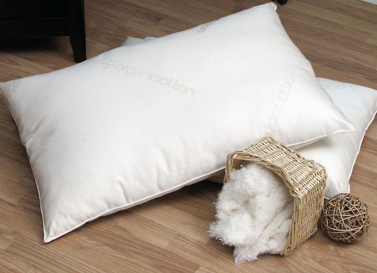 Organic Cotton Pillow.