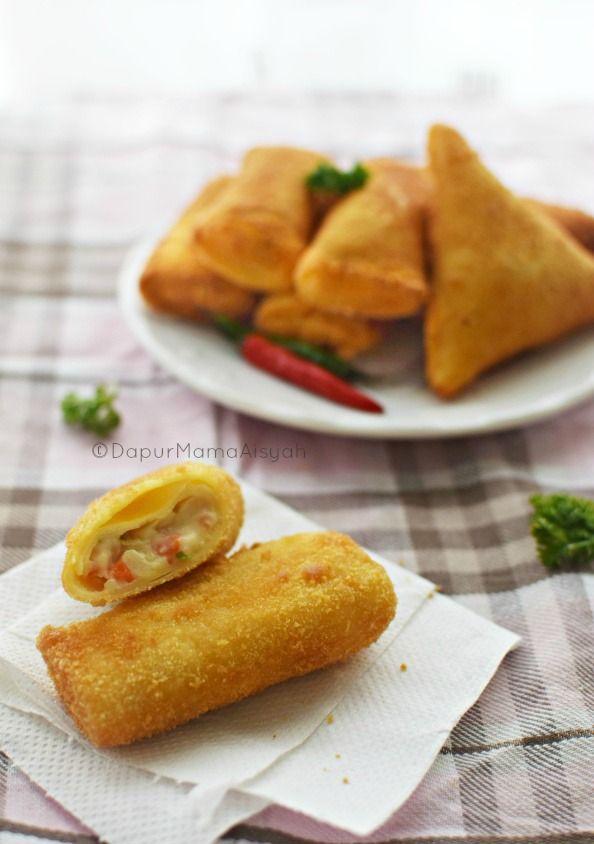 Dapur Mama Aisyah Risoles Ragout Sayuran Yang Creamy Ngejuu Makanan Dan Minuman Fotografi Makanan Resep Makanan