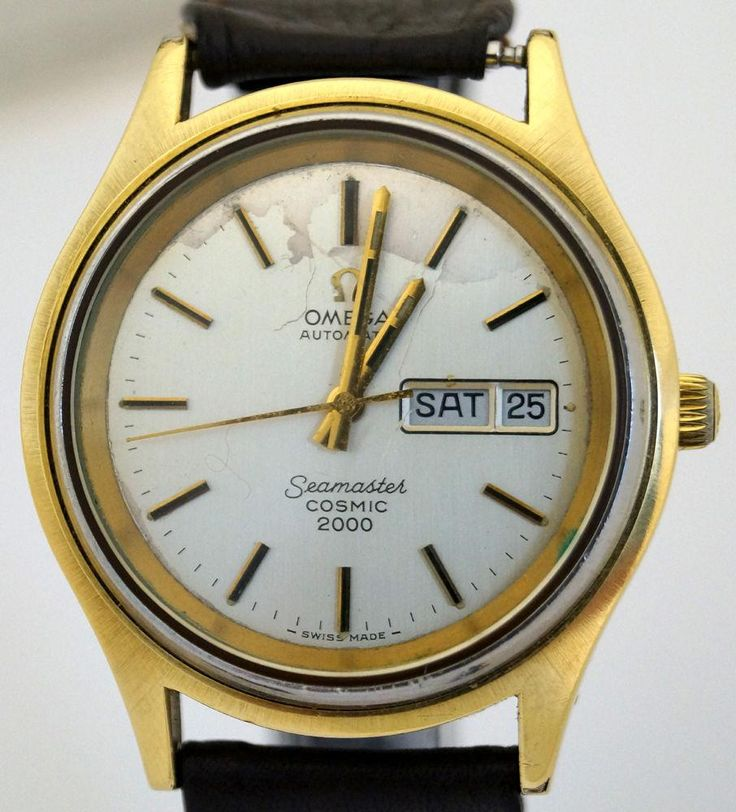Authentic Men's Omega Seamaster Automatic Cosmic 2000 Watch - EX416162-B5