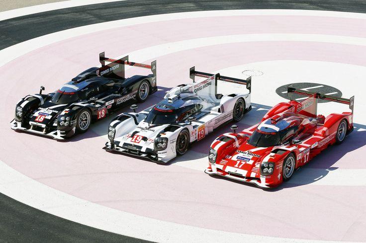 Porsche 919 Hybrid in 2015 Le Mans colors