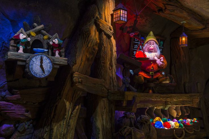 Image result for Seven Dwarfs Mine Train pinterest