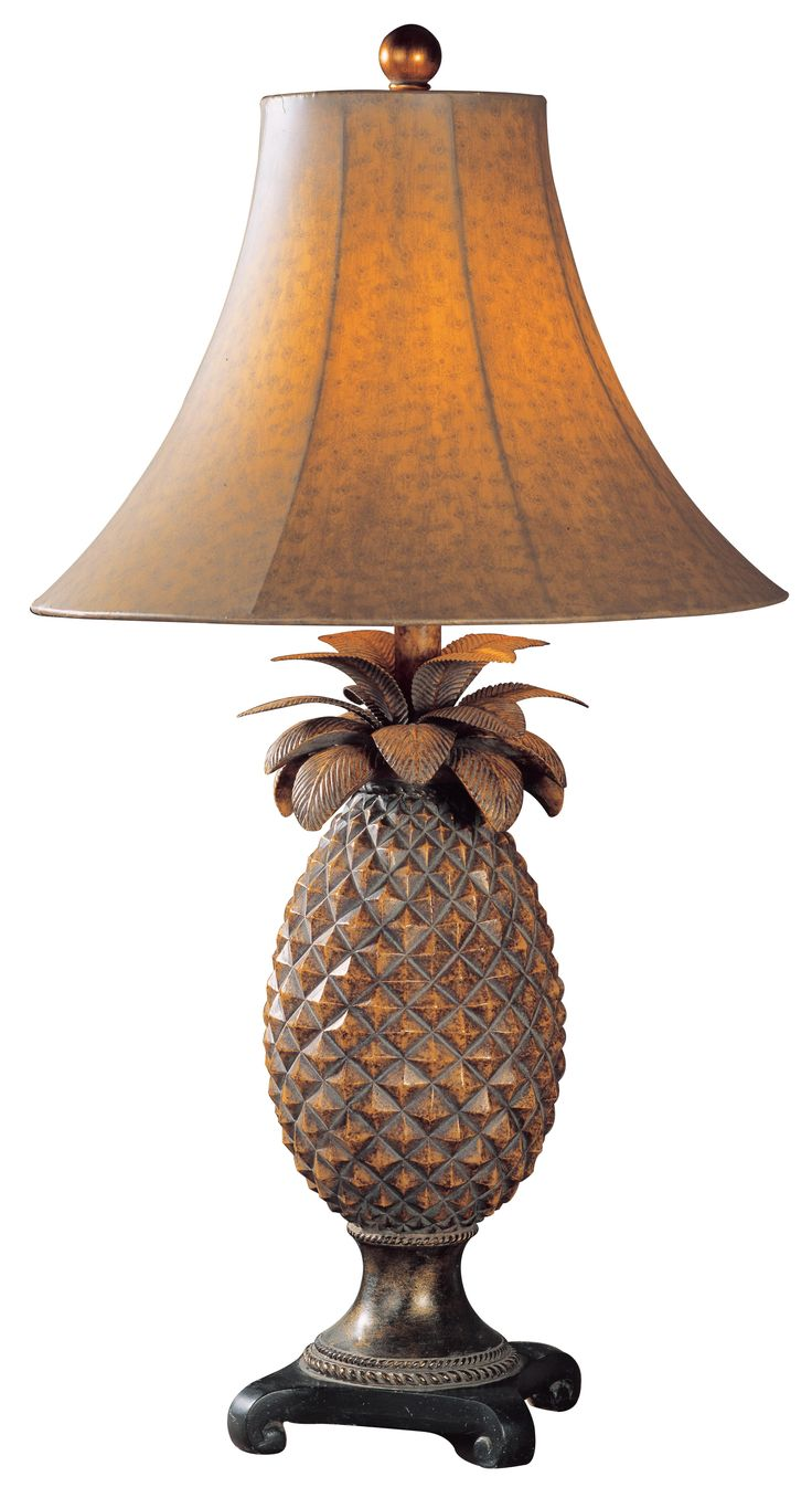 117 best condo furniture images on pinterest condo furniture uttermost anana pineapple table lamp geotapseo Gallery