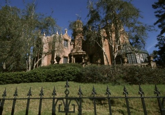...Disney's Haunted Mansion.  I could ride it again and again and again.